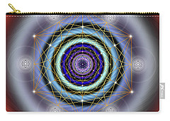 Sacred Geometry 640 Carry-all Pouch by Endre Balogh