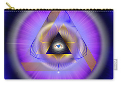 Sacred Geometry 642 Carry-all Pouch by Endre Balogh
