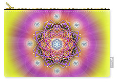Sacred Geometry 643 Carry-all Pouch by Endre Balogh