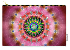 Sacred Geometry 644 Carry-all Pouch by Endre Balogh