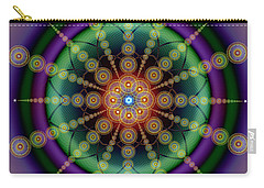 Sacred Geometry 652 Carry-all Pouch