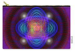 Sacred Geometry 654 Carry-all Pouch