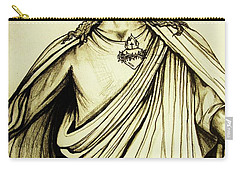 Sacred Heart Carry-all Pouch by Mary Ellen Frazee