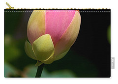 Sacred Lotus Bud 3 Carry-all Pouch