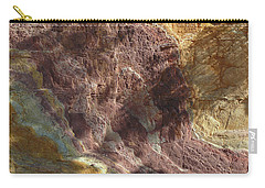 Carry-all Pouch featuring the photograph Sacred Ochre by Evelyn Tambour