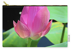 Sacred Pink Carry-all Pouch by Inspirational Photo Creations Audrey Woods