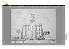 Sacred Steps - St. George Temple Carry-all Pouch