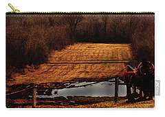 Saddle Up Enjoy The View Carry-all Pouch by Kim Henderson