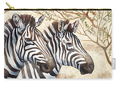 Safari Sunrise Carry-all Pouch by Mauro DeVereaux