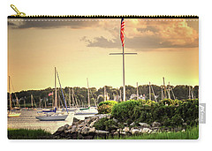 Carry-all Pouch featuring the photograph Safe Harbor Bristol Ri by Tom Prendergast