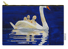 Carry-all Pouch featuring the painting Safe Harbor by Rodney Campbell