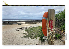 Carry-all Pouch featuring the photograph Safety First by Brian Eberly