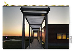 Carry-all Pouch featuring the photograph Sag Harbor Sunset by Rob Hans