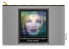 Sage Advice Carry-all Pouch by Irma BACKELANT GALLERIES