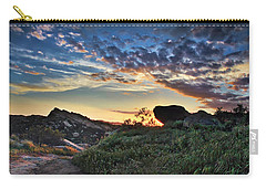 Sage Ranch Sunset Carry-all Pouch by Endre Balogh