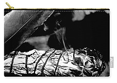 Carry-all Pouch featuring the photograph Saging Of The Black Bear 1 by Ayasha Loya