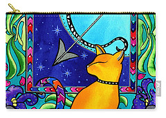 Sagittarius Cat Zodiac Carry-all Pouch