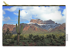 Saguaros Cholla Superstition Mountains Carry-all Pouch