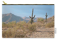 Saguaros On A Hillside Carry-all Pouch