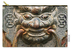Saigon Door Knocker Carry-all Pouch by For Ninety One Days