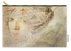 Carry-all Pouch featuring the digital art Sail Away by Sue Collura