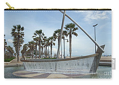 Sail Boat Fountain In Valencia Carry-all Pouch