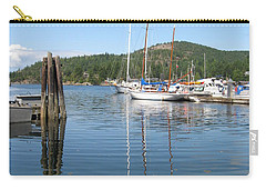 Sail Boats At Pender Horbour Carry-all Pouch