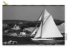 sailboat - a one mast classical vessel sailing in one of the most beautiful harbours Port Mahon Carry-all Pouch