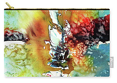 Sailboat After Storm Carry-all Pouch by Kovacs Anna Brigitta