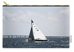 Sailboat And Bridge Carry-all Pouch