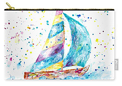 Sailboat By Jan Marvin Carry-all Pouch