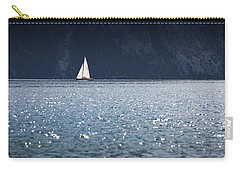 Carry-all Pouch featuring the photograph Sailboat by Chevy Fleet