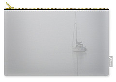 Sailboat In Fog Carry-all Pouch