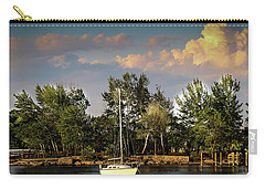Sailboat In The Bay Carry-all Pouch