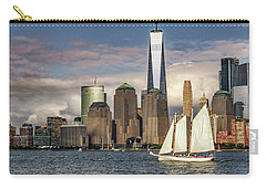 Sailboat On New York Harbor Carry-all Pouch