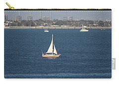 Sailboat On The Pacific In Long Beach Carry-all Pouch