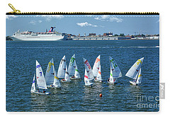 Sailboat Races Carry-all Pouch by Kathy Baccari
