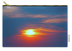 Sailboat Sunset Carry-all Pouch by Todd Breitling