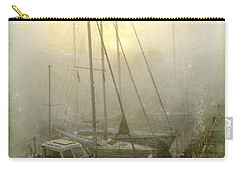 Sailboats In Honfleur. Normandy. France Carry-all Pouch