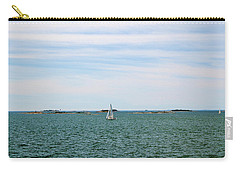 Sailboats In Summer Carry-all Pouch