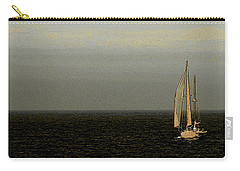 Carry-all Pouch featuring the photograph Sailing by Ben and Raisa Gertsberg