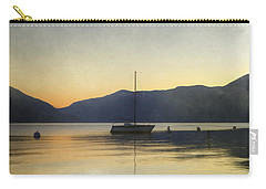 Sailing Boat In The Sunset Carry-all Pouch