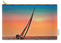 Sailing Boat Nautical 3 Carry-all Pouch