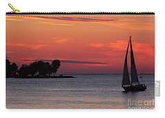 Sailing Home Carry-all Pouch by Joel Witmeyer