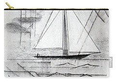 Sailing In The City Harbor Carry-all Pouch