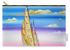 Sailing Into A Dreamy Sunset Carry-all Pouch