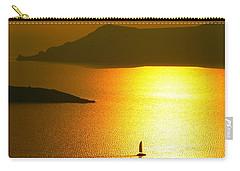 Sailing On Gold 1 Carry-all Pouch by Ana Maria Edulescu