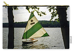 Sailing On Lake Dunmore No. 1 Carry-all Pouch