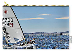 Sailing Ship  In Marseille Carry-all Pouch