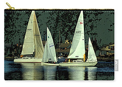 Sailing The Harbor Carry-all Pouch